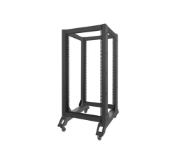 "Lanberg Stojąca 19"" 22U 600x800mm Open Rack (czarna) (OR01-6822-B)"
