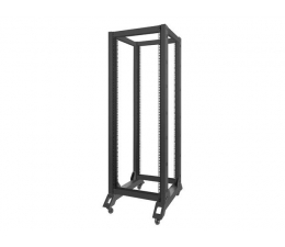 "Lanberg Stojąca 19"" 32U 600x800mm Open Rack (czarna)  (OR01-6832-B )"