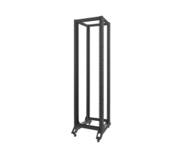 "Lanberg Stojąca 19"" 42U 600x800mm Open Rack (czarna)  (OR01-6842-B )"
