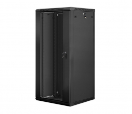 """Lanberg Wisząca 19"""" 27U 600x600mm jednosekcyjna (czarna)  (WF01-6627-10B)"""