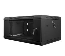 """Lanberg Wisząca 19"""" 4U 600x450mm jednosekcyjna (czarna) (WF01-6404-10B)"""