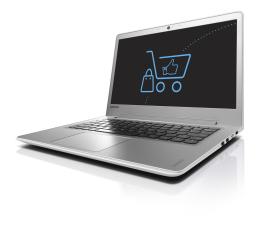 Lenovo Ideapad 510s-13 i5-6200U/8GB/240 Biały FHD  (80SJ007LPB-240SSD)