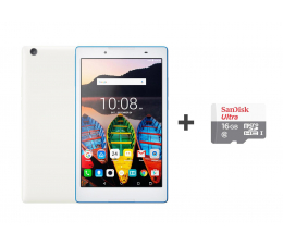 Lenovo TAB 3 8 MT8735P/2GB/32/Android 6.0 Biały LTE  (ZA180050PL-SDSQUNS-016G-GN3MN)