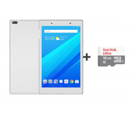 Lenovo TAB 4 8 APQ8017/2GB/32GB/Android 7.0 WiFi Biały  (ZA2B0063PL+SDSQUNS-016G-GN3MN)