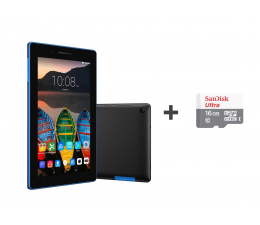 Lenovo TAB3 A7-10F MT8127/1GB/24/Android 5.0 Ebony Black  (ZA0R0021PL+SDSQUNB-016G-GN3MN)