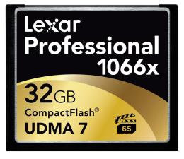 Lexar 32GB 1066x Compact Flash Professional (LCF32GCRBEU1066)