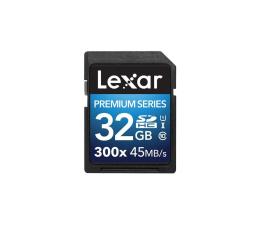 Lexar 32GB 300x SDHC Premium II C10 U1  (LSD32GBBEU300)