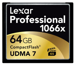 Lexar 64GB 1066x Compact Flash Professional (LCF64GCRBEU1066)