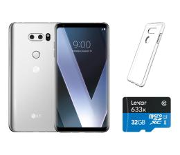 LG V30 srebrny + ZESTAW (H930 SILVER+ZESTAW)