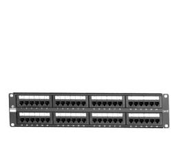 "Linkbasic Patchpanel 48p 19""/2U (UTP 5e) półka organizująca (PND48-UC5E)"