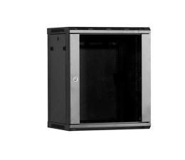 Linkbasic Wisząca 12U 600x450mm (drzwi szklane) czarna  (WCB12-645-BAA-C)