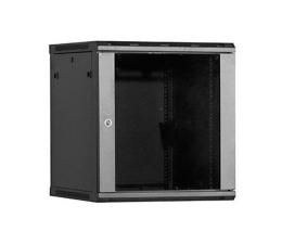 Linkbasic Wisząca 12U 600x600mm (drzwi szklane) czarna (WCB12-66-BAA-C)