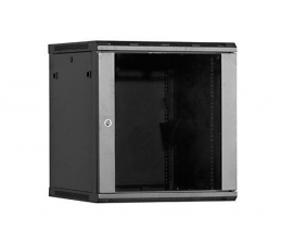 Linkbasic Wisząca 18U 600x450mm (drzwi szklane) czarna  (WCB18-645-BAA-C)