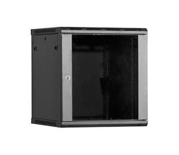 Linkbasic Wisząca 18U 600x600mm (drzwi szklane) czarna  (WCB18-66-BAA-C)