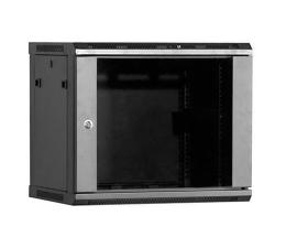 Linkbasic Wisząca 9U 600x450mm (drzwi szklane) czarna  (WCB09-645-BAA-C)
