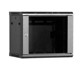 Linkbasic Wisząca 9U 600x600mm (drzwi szklane) czarna  (WCB09-66-BAA-C)