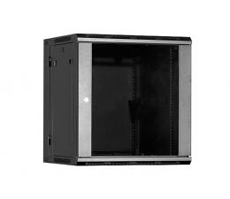 Linkbasic Wisząca dwusekcyjna 12U 600x550mm (drzwi szklane) (WCC12-655-BAA-C)