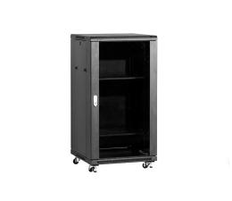 Linkbasic Wolnostojąca 22U 600x600mm (drzwi szklane) czarna  (NCB22-66-BAA-C)
