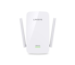 Linksys RE6400 (802.11a/b/g/n/ac 1200Mb/s) plug repeater (RE6400-EU)