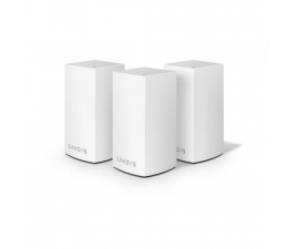Linksys Velop Mesh WiFi (1200Mb/s a/b/g/n/ac) zestaw 3szt. (VLP0103-EU MU-MIMO Dual-Band AC)