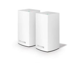 Linksys Velop Mesh WiFi (1300Mb/s a/b/g/n/ac) zestaw 2szt. (WHW0102-EU MU-MIMO Dual-Band AC)