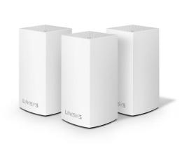 Linksys Velop Mesh WiFi (1300Mb/s a/b/g/n/ac) zestaw 3szt. (WHW0103-EU MU-MIMO Dual-Band AC )