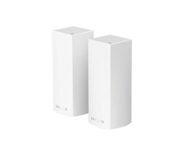 Linksys Velop Mesh WiFi (2200Mb/s a/b/g/n/ac) zestaw 2szt. (WHW0302-EU MU-MIMO Tri-Band AC)