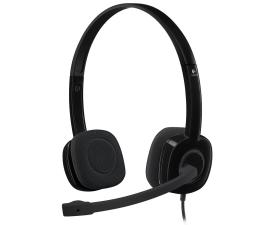 Logitech H151 Headset z mikrofonem (981-000589)