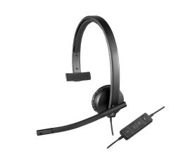 Logitech H570e Headset Mono z mikrofonem (981-000571)