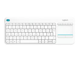 Logitech Wireless Touch K400 Plus biała (920-007146)