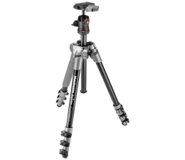 Manfrotto BeFree + Głowica szary  (MF-BFRA4D-BH)