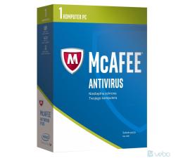 McAfee  AntiVirus 2017 PL (1 st. / 12m.)  (0731944696904)