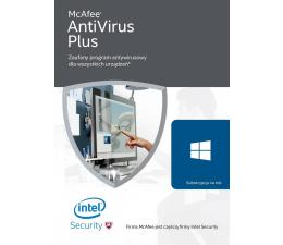 McAfee AntiVirus Plus 2016 PL (12m.)  (731944687773)
