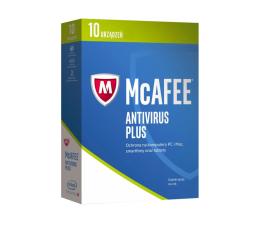 McAfee AntiVirus Plus 2017 PL (10 st. / 12m.)  (0731944697055)