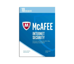 McAfee Internet Security 2017 PL (10 st. / 12m.) (0731944697635)