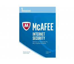 McAfee Internet Security 2017 PL OEM (12m.) (5902385103589)