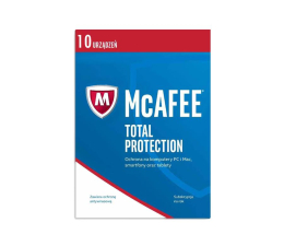 McAfee Total Protection 2017 PL (10 st. / 12m.) (0731944698922)