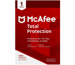 McAfee Total Protection 2018 PL OEM (12m.)  (5902385103879)