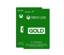 Microsoft Abonament Xbox Live GOLD 6 miesięcy (S6T-00002)
