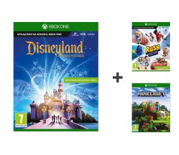 Microsoft Disneyland Adventures + Pixar Rush + Minecraft