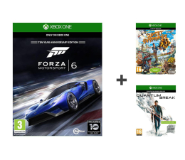 Microsoft Forza 6 + Quantum Break+ Sunset Overdrive - Pakiet