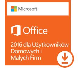 Microsoft Office 2016 dla Użytk. Domowych i Małych Firm ESD (T5D-02316)