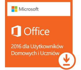 Microsoft Office 2016 dla Użytk. Domowych i Uczniów ESD (79G-04294)