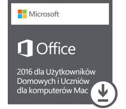 Microsoft Office 2016 dla Użytk. Domowych i Uczniów Mac ESD (GZA-00550)
