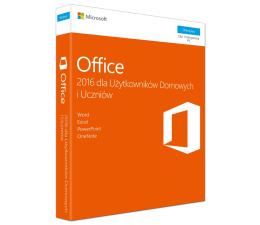 Microsoft Office 2016 Home&Student (MLK) (79G-04609)