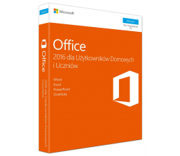 Microsoft Office 2016 Home&Student z Notebook|Desktop|AIO (79G-0004609+NTB/PC/AIO)