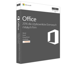 Microsoft Office 2016 Mac Home Business PL  (W6F-00851)