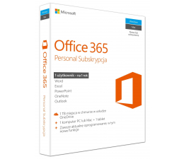 Microsoft Office 365 Personal | zakup z komputerem (QQ2-00535  | zakup z PC)