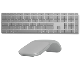 Microsoft Surface Keyboard + Surface Arc Mouse Bluetooth (WS2-00021+CZV-00006)