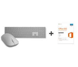 Microsoft Surface Mouse i Keyboard + Office 365 Personal (WS3-00006+WS2-00021+QQ2-00535)
